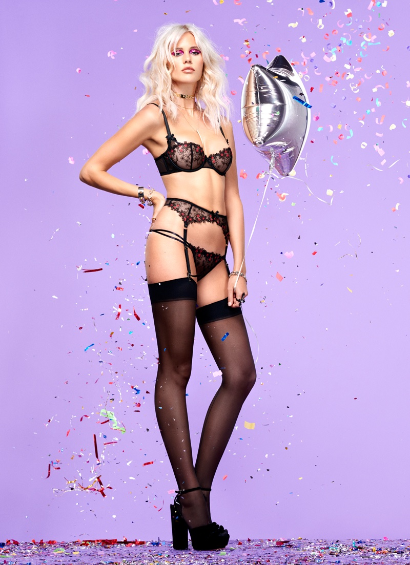 L'Agent by Agent Provocateur Celebrates the Holiday Season with a Sexy Lookbook