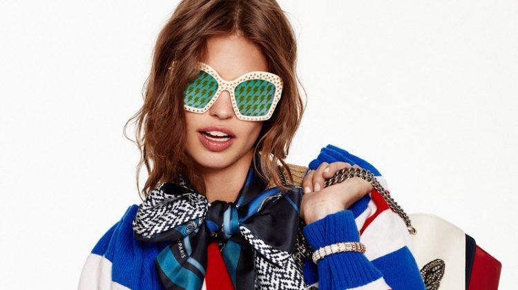 Lauren Auerbach Models Statement Fashions for ELLE Spain