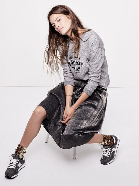 Cameron Russell Models Madewell's Casual Holiday Outfits