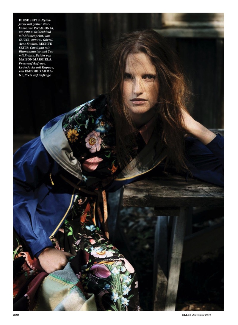 Magdalena Jasek Embraces Cruise's Best Prints for ELLE Germany