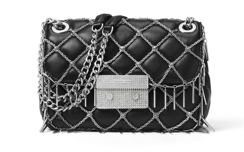 MICHAEL Michael Kors Sloan Tango Small Quilted Leather Shoulder Bag