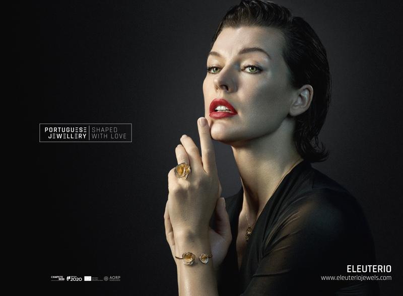 Milla Jovovich stars in Portuguese Jewellery campaign