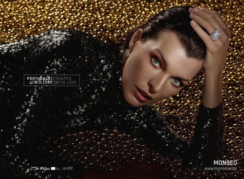 Milla Jovovich Dazzles in Portuguese Jewellery Campaign