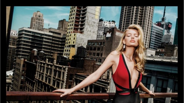 Bregje Heinen Sizzles in the City for Moeva Swimwear Spring '17