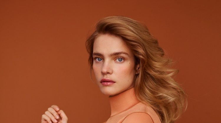 Natalia Vodianova Poses in Graceful Looks for Harper's Bazaar Spain