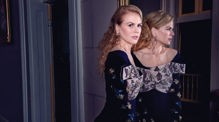 Nicole Kidman Looks Super Luxe in Flaunt Magazine