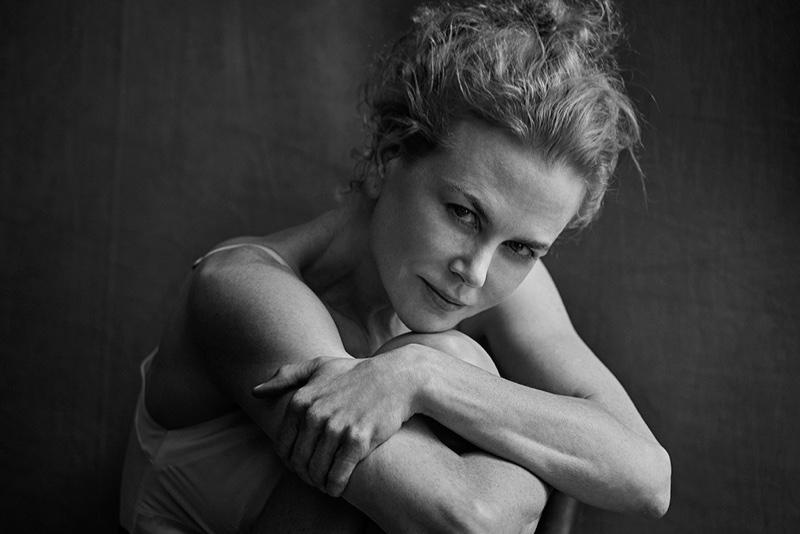 Nicole Kidman goes natural in the 2017 Pirelli calendar