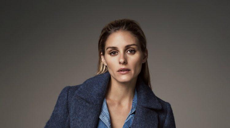 Olivia Palermo Poses in Banana Republic's Winter Looks