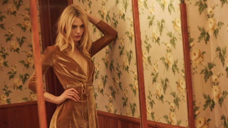 Andreja Pejic Models Reformation's Easy Luxe Holiday Dresses