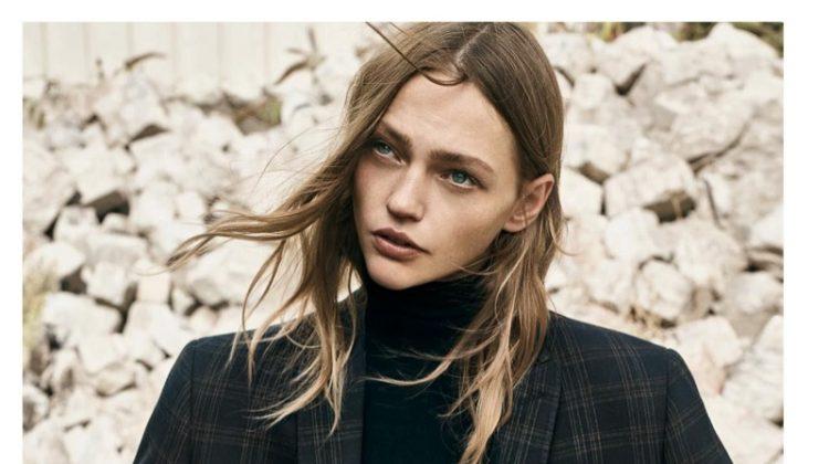 Sasha Pivovarova Looks Sharp in Menswear Inspired Styles for Vogue Paris