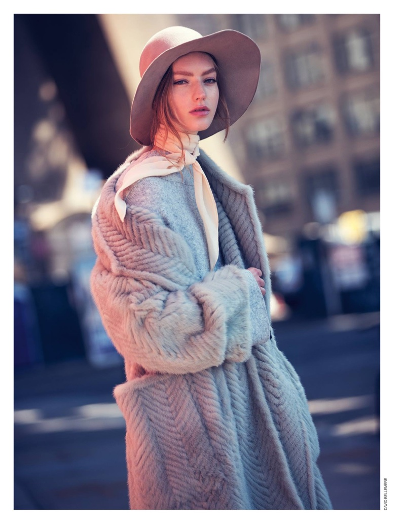 Susanne Knipper Models Autumn Street Style for Marie Claire Italy