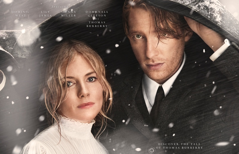 Sienna Miller & Lily James Star in Burberry's Dramatic Holiday Film
