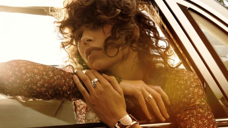 Mica Arganaraz is a Free Spirit in Tiffany & Co's 'Love' Jewelry