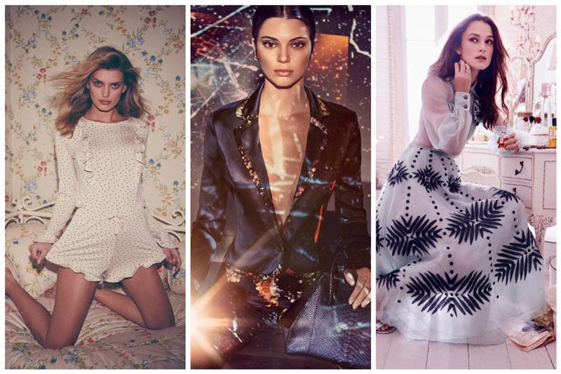 Week in Review | Kendall Jenner for La Perla, Keira Knightley in Chanel, For Love & Lemons Lingerie + More