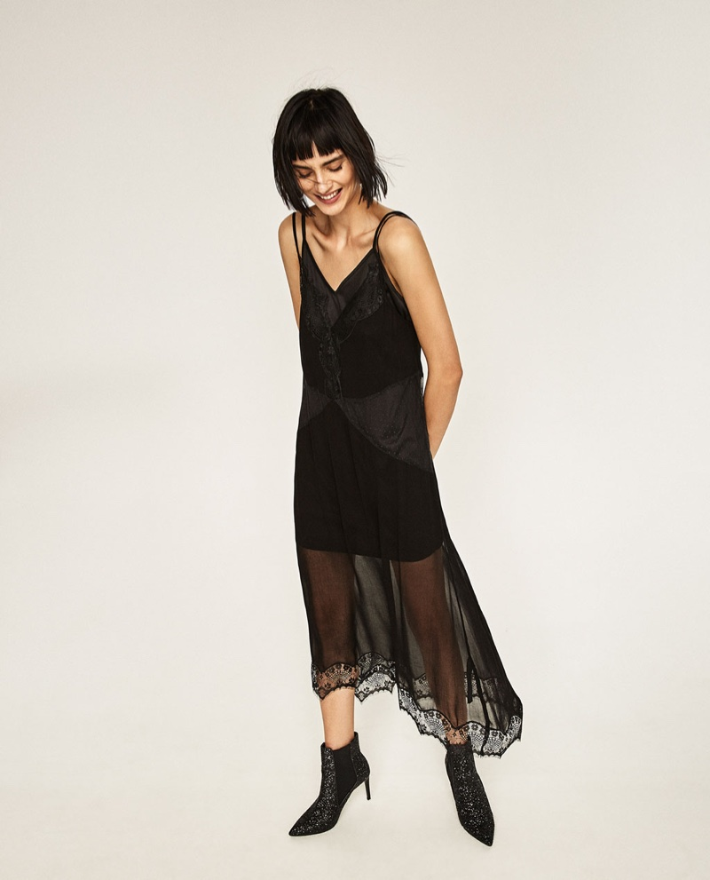 Zara Brings on the Shine with Evening Collection