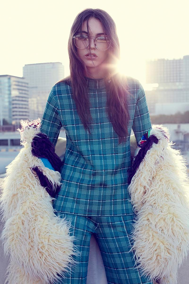 Anisia Khurmatulina Models Eclectic Styles for Glamour Mexico