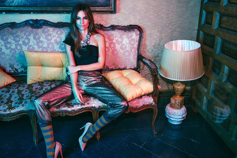 Ariadne Artiles stars in the December issue of Woman Spain