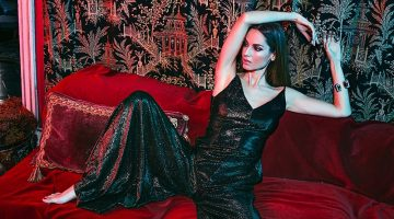 Ariadne Artiles Poses in Glamorous Party Looks for Woman Spain