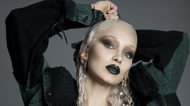 Bella Hadid Goes Blonde for Paper Magazine
