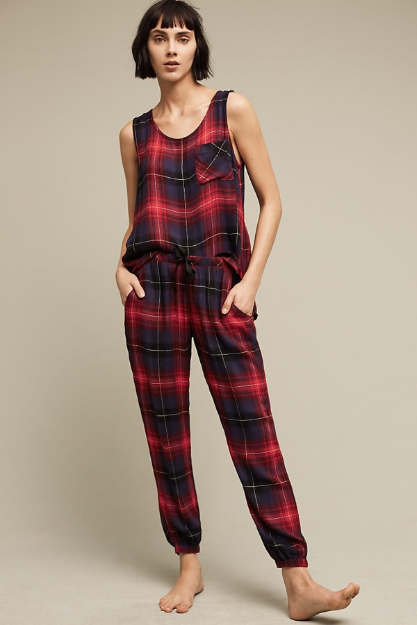Clothe Stone Durie Sleep Tank & Pants. Photo: Anthropologie