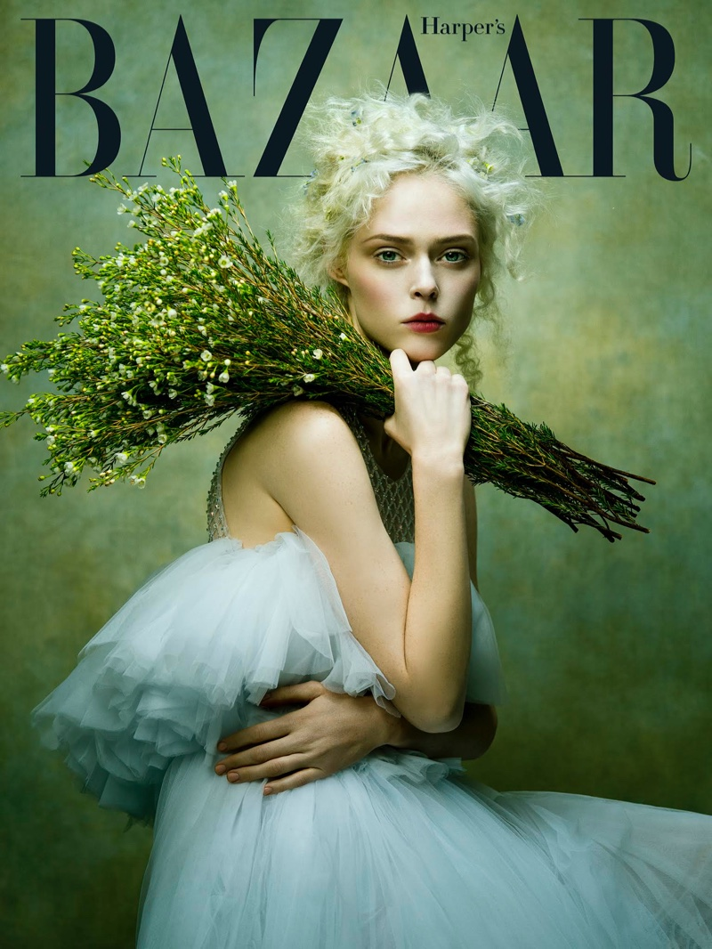 Coco Rocha on Harper's Bazaar Vietnam January 2017 Cover
