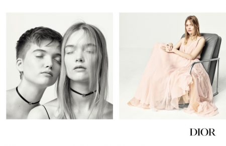 Dior focuses on femininity for its spring 2017 campaign