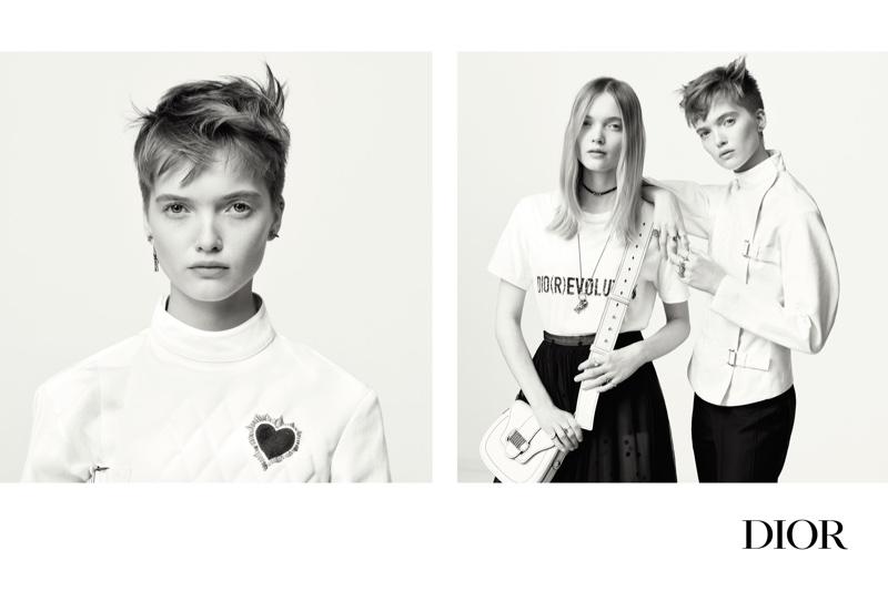 Brigitte Lacombe photographs Dior's spring-summer 2017 campaign