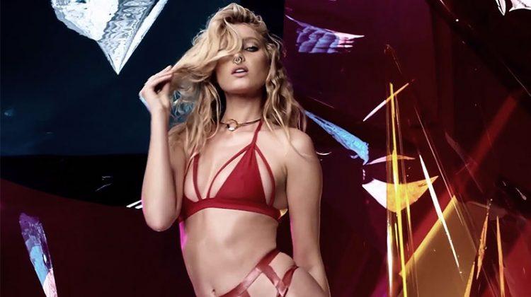 Victoria's Secret Angel Elsa Hosk strips down for LOVE film