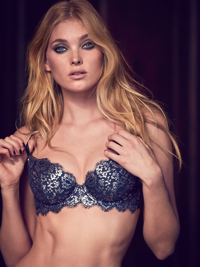 Elsa Hosk Smolders in Latest Victoria's Secret Images