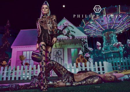 Fergie stars in Philipp Plein's spring-summer 2017 campaign