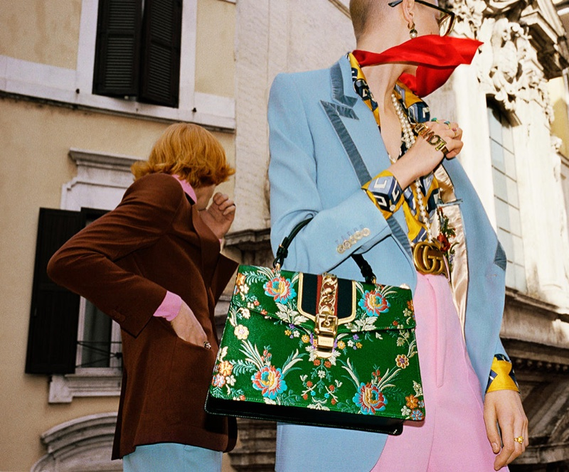 Glen Luchford photographs Gucci's spring 2017 advertising campaign