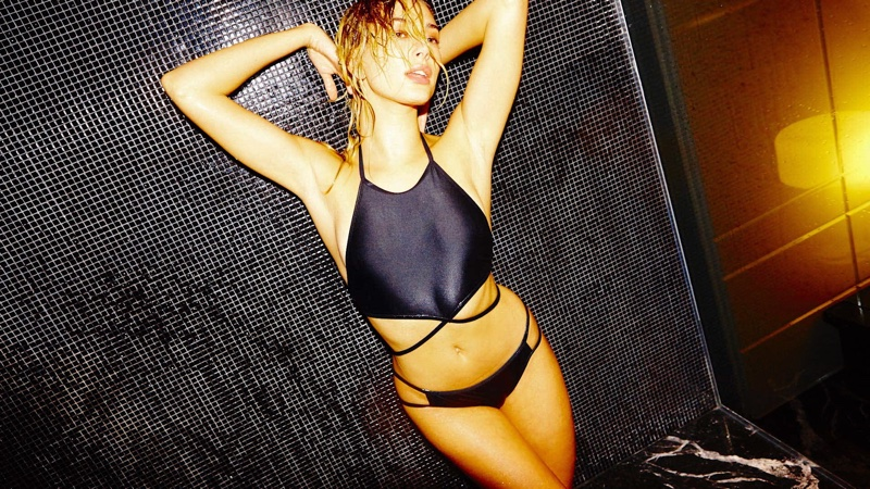 Hailey Baldwin Looks Smokin' Hot in LOVE's Advent Calendar