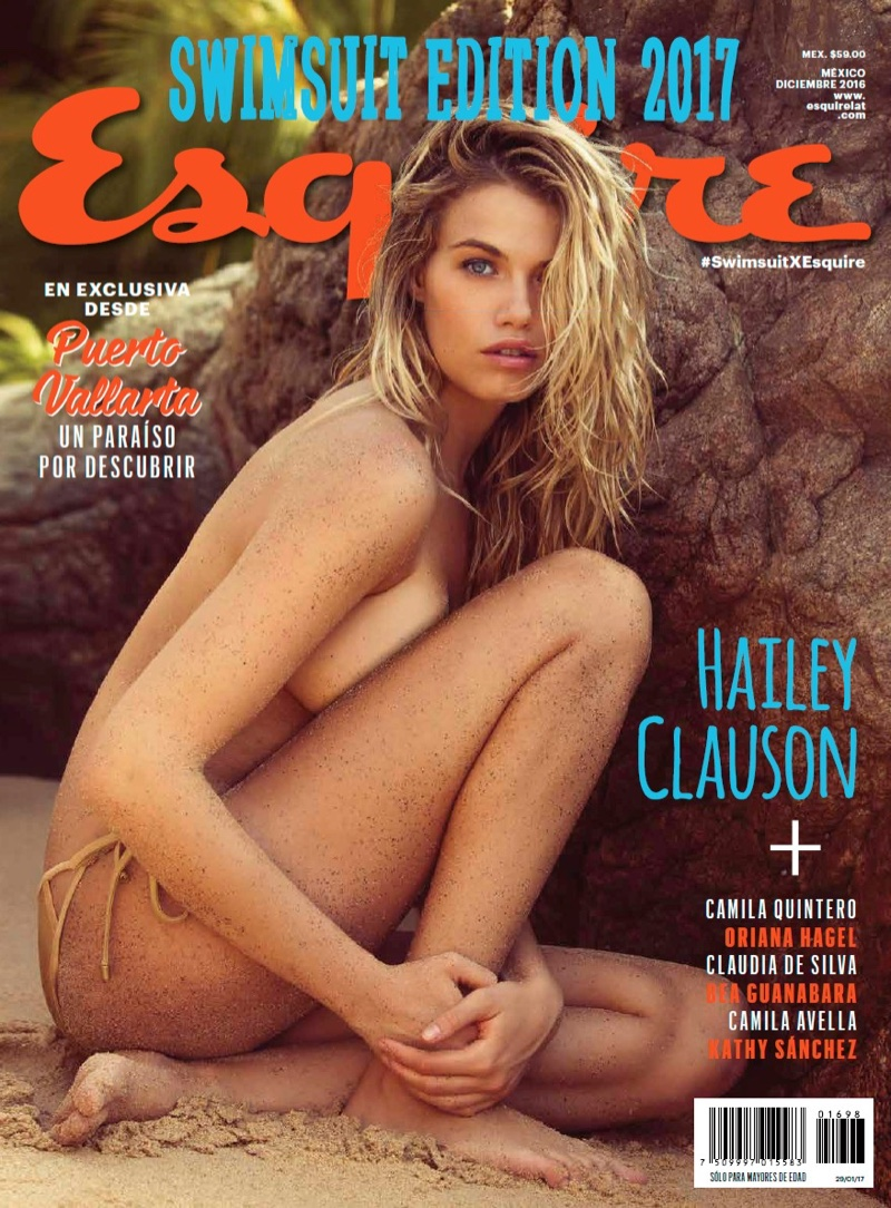 Hailey Clauson on Esquire Latin America December 2016 Cover