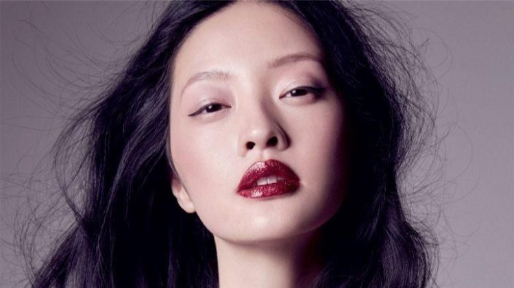 Hilda Lee Models Party Inspired Makeup for ELLE Vietnam
