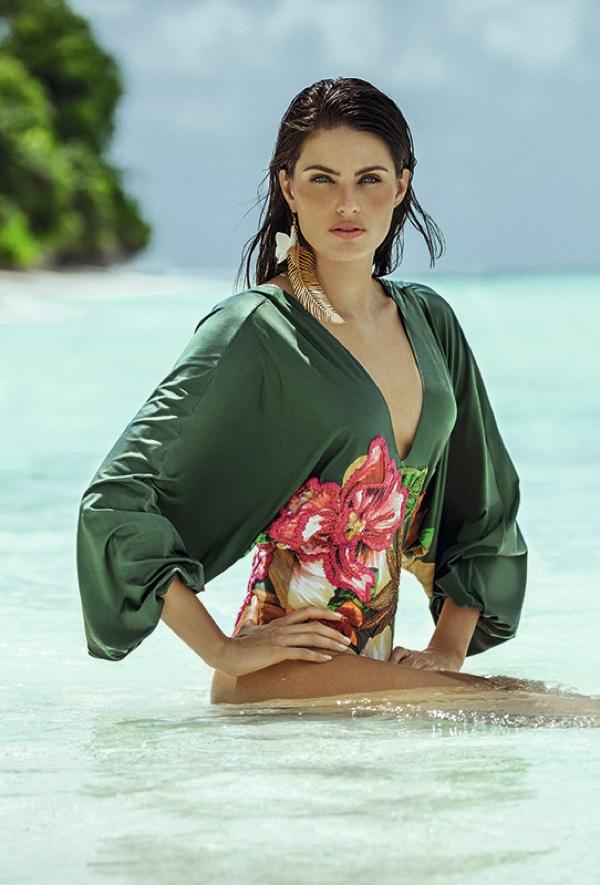 Isabeli Fontana stars in Agua de Coco's resort 2017 swimsuit campaign