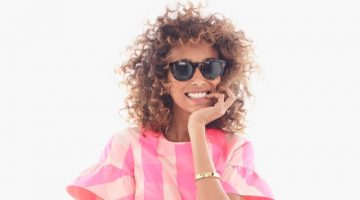 Anais Mali Models Casual Cool Outfits from J. Crew