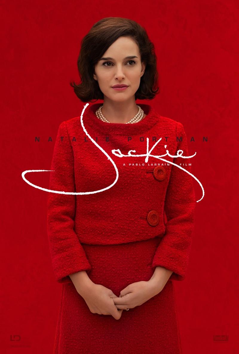 Natalie Portman on Jackie movie poster