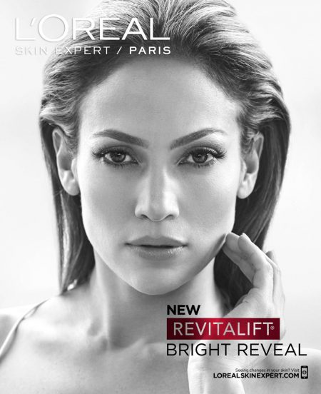 Jennifer Lopez Looks Absolutely Radiant in L'Oreal Campaign
