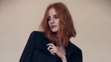 Jessica Chastain Wears Elegant Styles for L'Officiel Paris