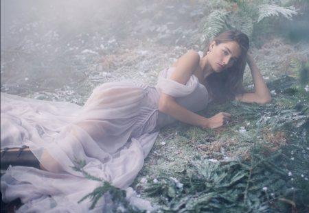 Josephine le Tutour Mesmerizes in Haute Couture Looks for Harper's Bazaar UK