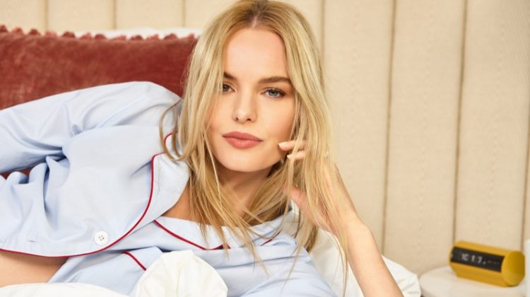 Kate Bosworth Kicks Back & Relaxes in Shopbop's Holiday Campaign
