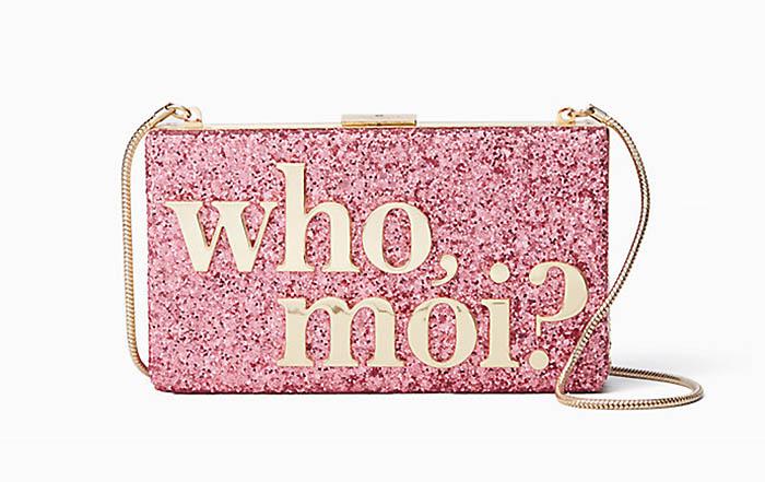 Kate Spade x Miss Piggy Who, Moi? Clutch