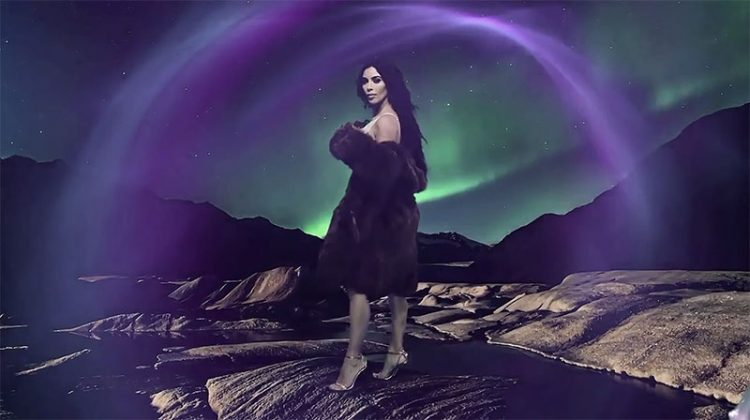 Kim Kardashian stars in LOVE Magazine's 2016 advent calendar