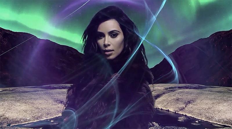 Kim Kardashian covers up in Coach fur coat for LOVE Magazine