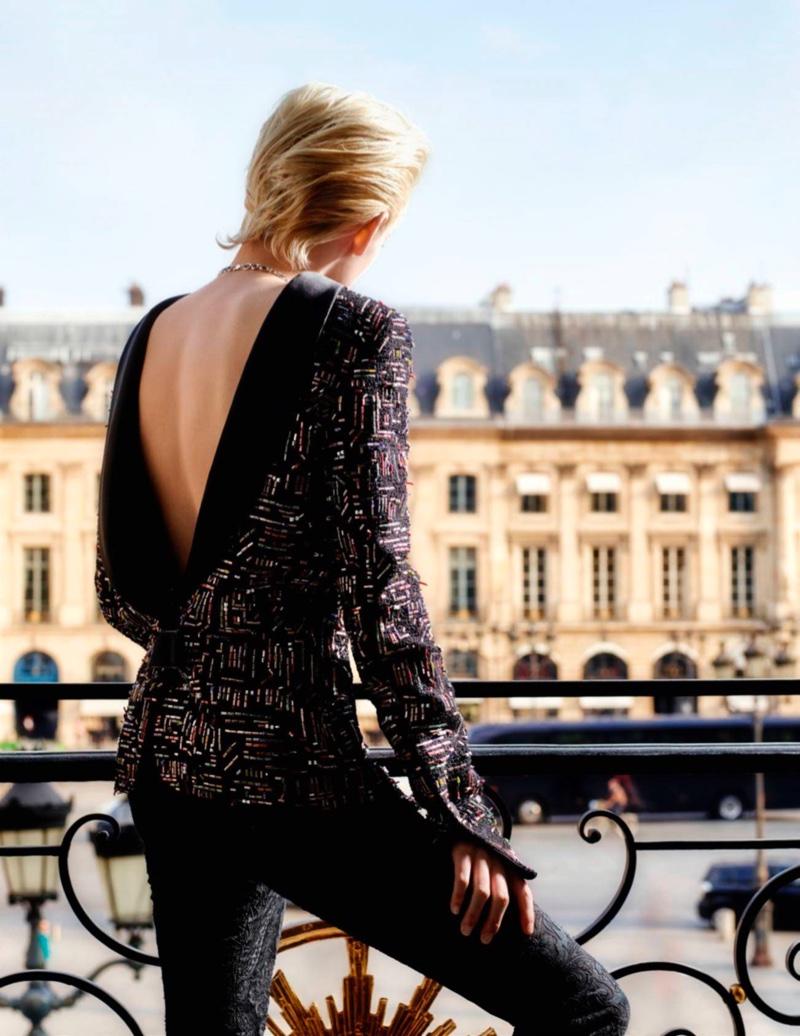 Kristen Stewart stars in Vogue Paris' December-January issue