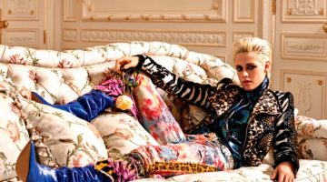 Kristen Stewart Channels 80's Fashion in Colorful Spread for Vogue Paris