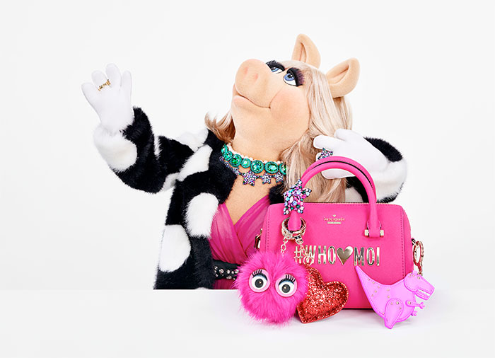 New Arrivals: Miss Piggy x Kate Spade's New Collection Thinks Pink
