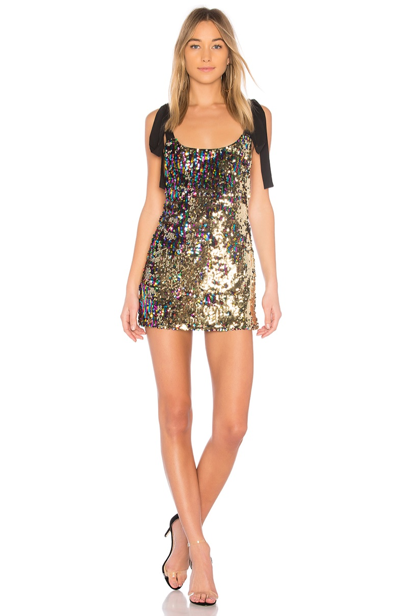 NBD Suri Sequined Minidress $198