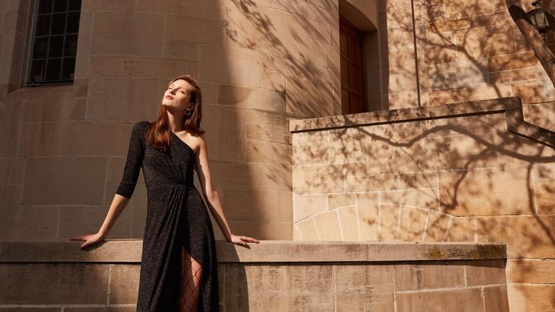 Reformation Punch Dress in Gemini