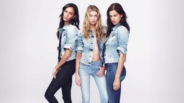 Irina Shayk, Stella Maxwell & Joan Smalls Strip Down for Replay Jeans